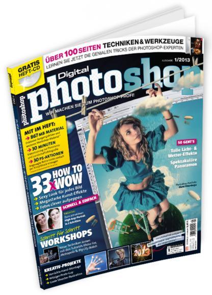 DigitalPHOTO Photoshop 01/2013 Jetzt im Handel!