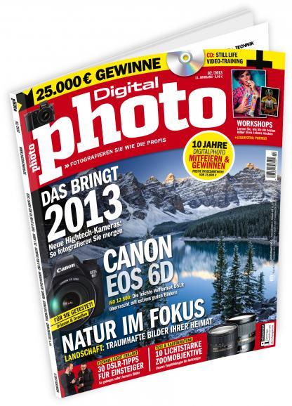DigitalPHOTO 2/2013 jetzt im Handel!