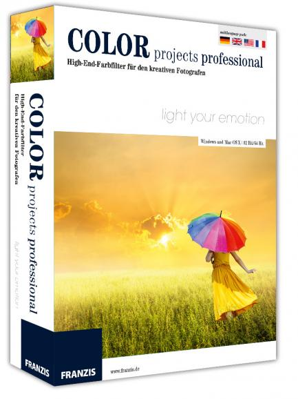 Software: COLOR projects professional von Franzis