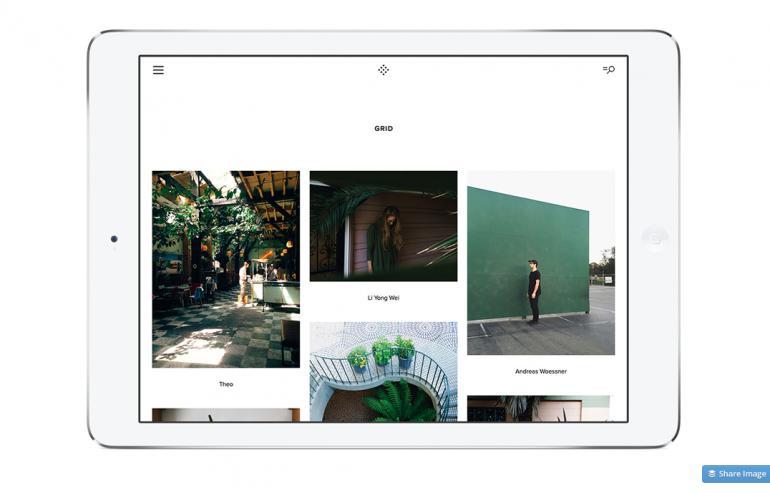 VSCO Cam für das iPad