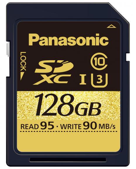 SDXC-Karte mit 128 GB