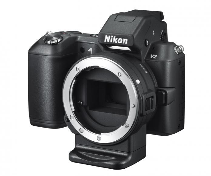Nikon 1 V2_Der Bajonettadapter FT1