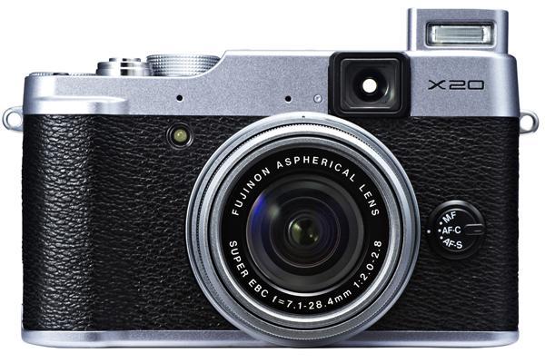 Großer Bildsensor: Fujifilm X20