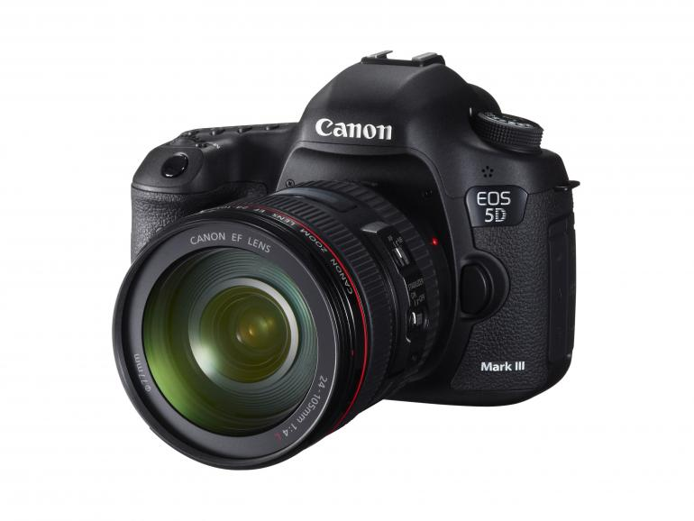 1. Gewinn: Canon EOS 5D Mark III