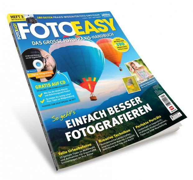 Die neue FotoEASY 02/15 ist da! Packen Sie Ihre Kamera ein und starten Sie fotografisch mit uns in den Sommer!