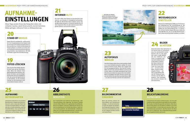 45 Profi-Tipps: So meistern Sie Ihre Kamera