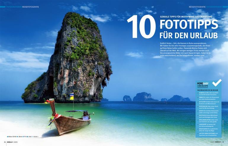 10 Fototipps für den Urlaub