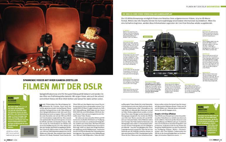 Filmen mit der DSLR