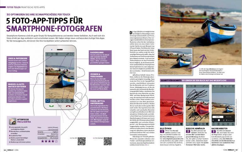 5 Foto-Apps für Smartphone-Fotografen