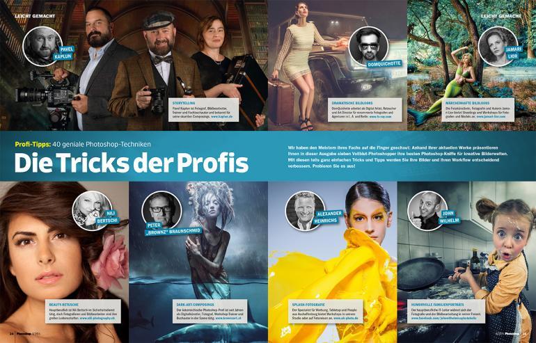 40 geniale Photoshop-Tricks von sieben Profis