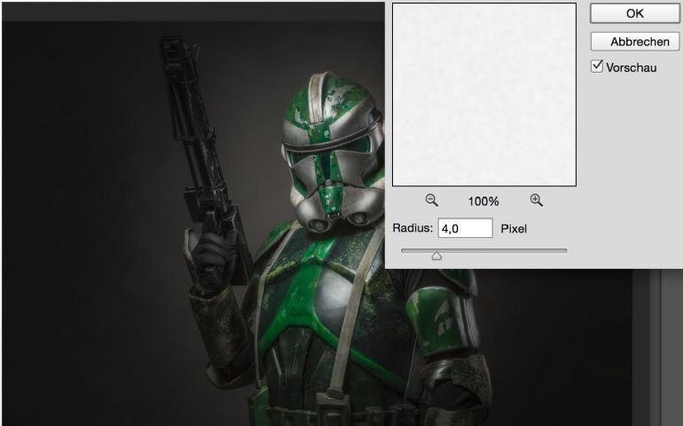 So geht's: Mit Photoshop zum eigenen Star-Wars-Klonkrieger