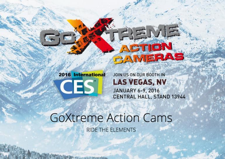 GoExtreme Action Cams von Easypix 2016 erstmals auf der CES