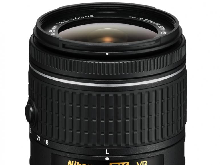 Das AF-P DX Nikkor 18–55mm VR ist mit einer Nikon-Bildstabilisatortechnologie