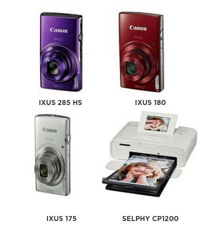Canon präsentiert neue IXUS-Kameras & Selphy Fotoprinter