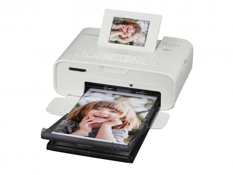 Der neue Selphy Fotoprinter CP1200 für unterwegs.