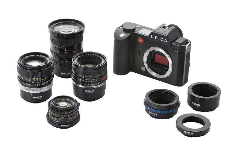 Die neuen Leica SL Objektivadapter von Novoflex