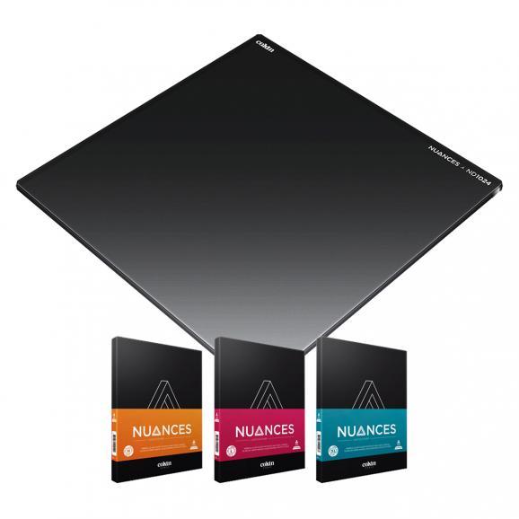 Die neuen Filter aus Cokins neuer Nuances-Serie sind aus Mineralglas gefertigt und in den Größen M bis XL erhältlich. Außerdem lassen sich die Neutraldichtefilter kombinieren.
