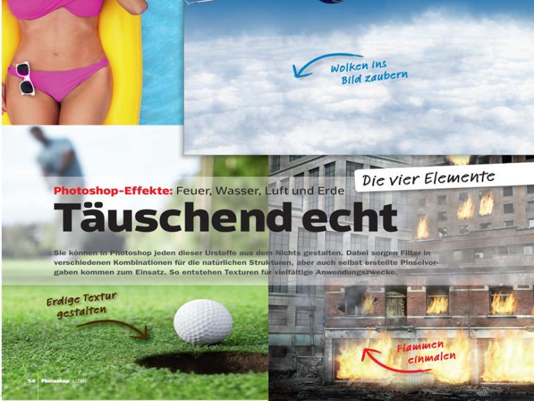 Neu im Handel: Die DigitalPHOTO Photoshop 1/2016