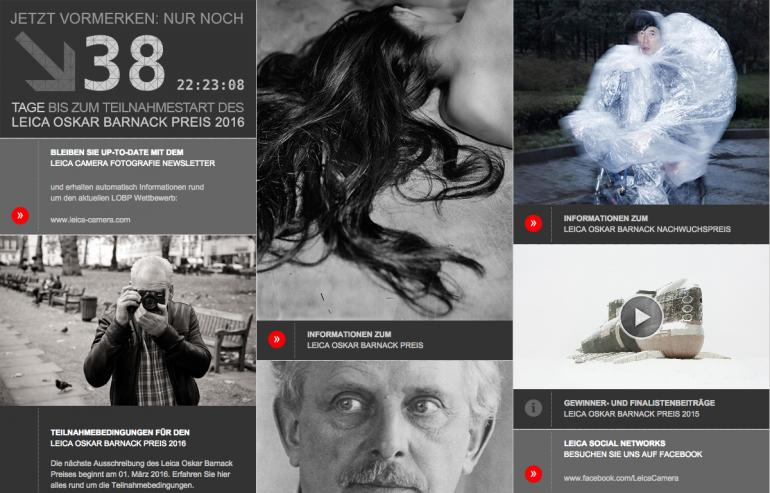 Fotowettbewerb: Leica Oskar Barnack Preis 2016