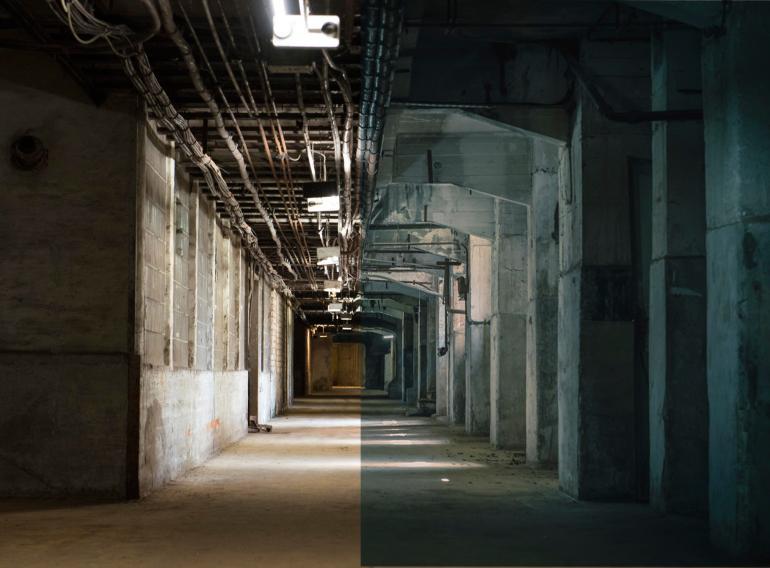 Industrieanlagen im Matrix-Look - so verwandeln Sie Ihre Fotos in Camera Raw.