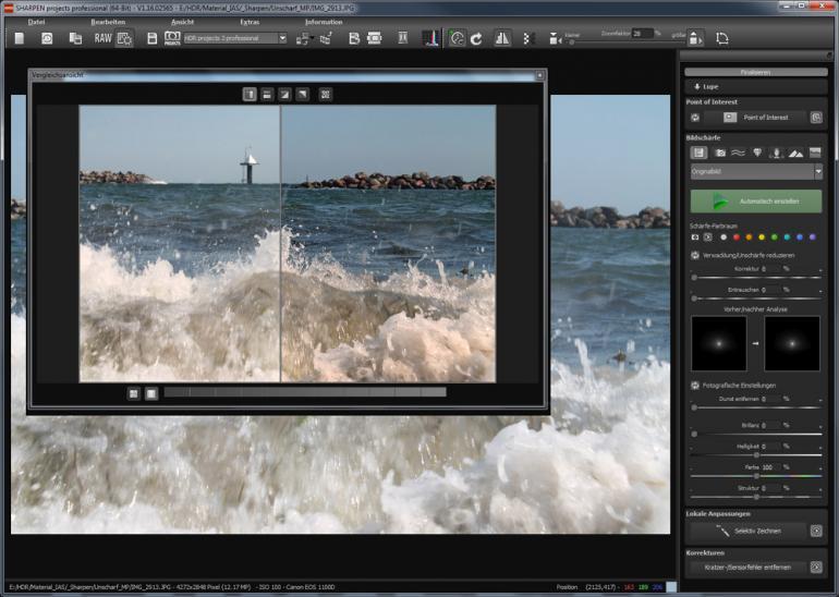 Unschärfe ade: Mit Sharpen projects professional soll jedes Foto scharf werden