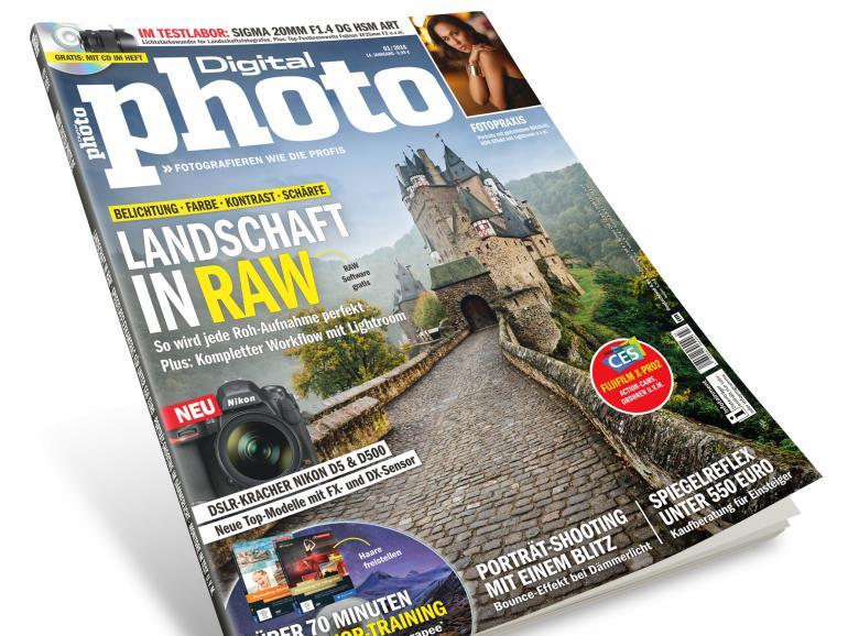 Die neue Ausgabe der DigitalPHOTO – Jetzt im Handel