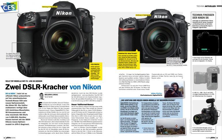 Zwei DSLR-Kracher von Nikon