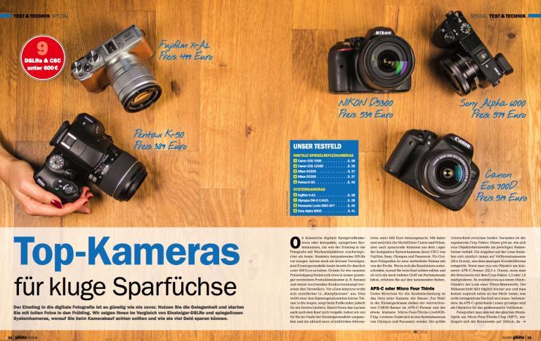 Top-Kameras für kluge Sparfüchse