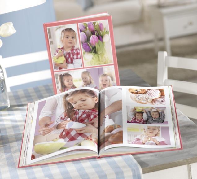 Pixum Fotobücher bieten jede Menge Platz für kreative Ideen und sind bereits ab 7,99 Euro erhältlich.