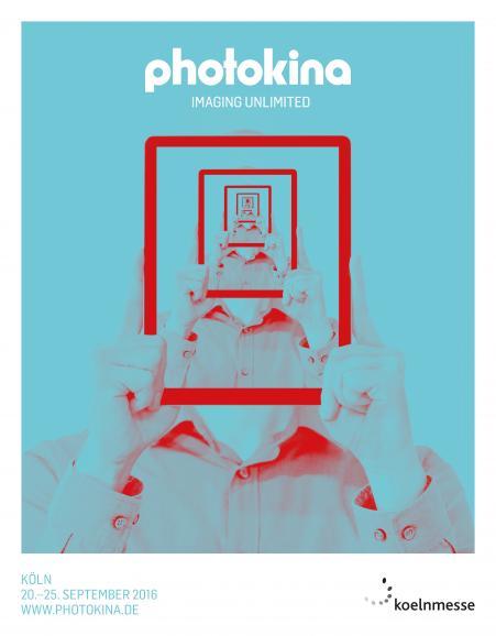 Das neue Konzept der photokina kommt in frischen, kontrastierenden Farben.
