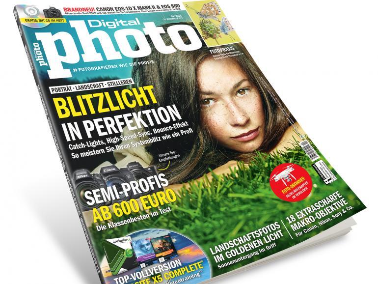 Die neue DigitalPHOTO, Ausgabe 4/2016 –jetzt im Handel!