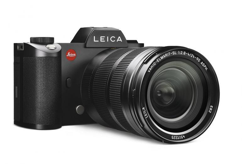 Das passende 24-90mm-Objektiv von Leica bietet beste optische Qualität und innenliegenden Zoom. Kosten: rund 4.300 Euro.