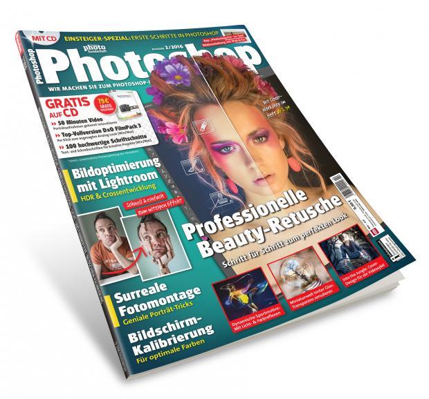 Die neue DigitalPHOTO Photoshop, Ausgabe 2/2016