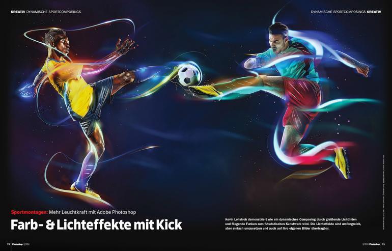 Farb- und Lichteffekte mit Kick, ab Seite 70