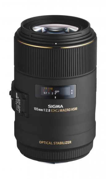 Das Makro-Objektiv von Sigma ist trotz seiner Telebrennweite erfreulich kompakt.