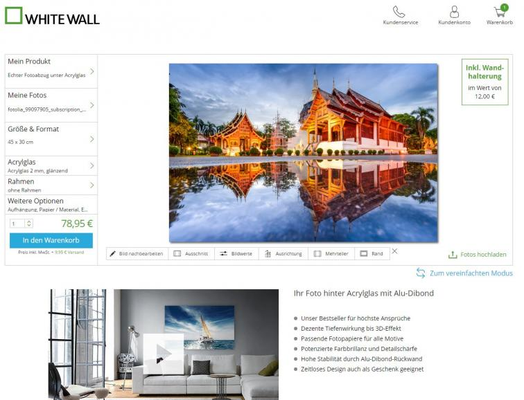 acrylglas wandbilder im test digitalphoto. Black Bedroom Furniture Sets. Home Design Ideas