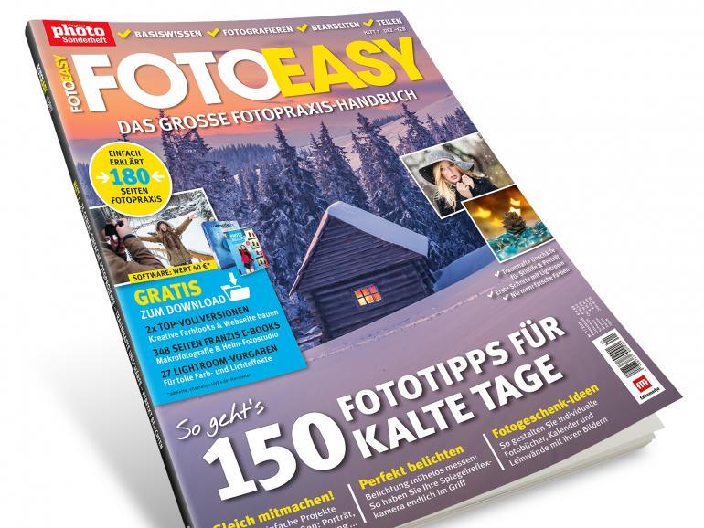 Die neue FotoEASY, Ausgabe 1/2017 – ab jetzt im Handel!