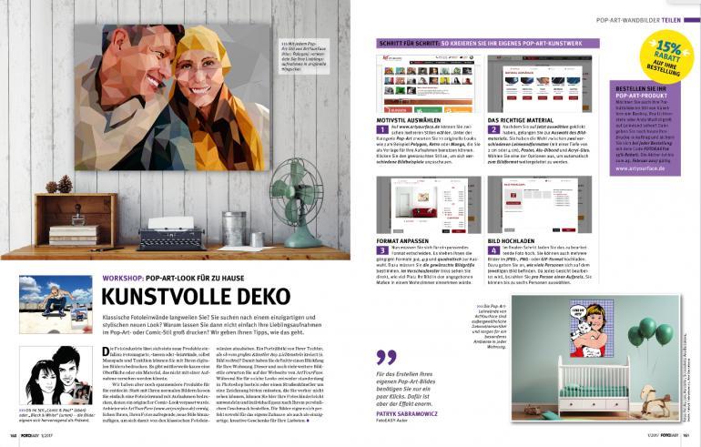 Workshop: Pop-Art-Look für Zuhause