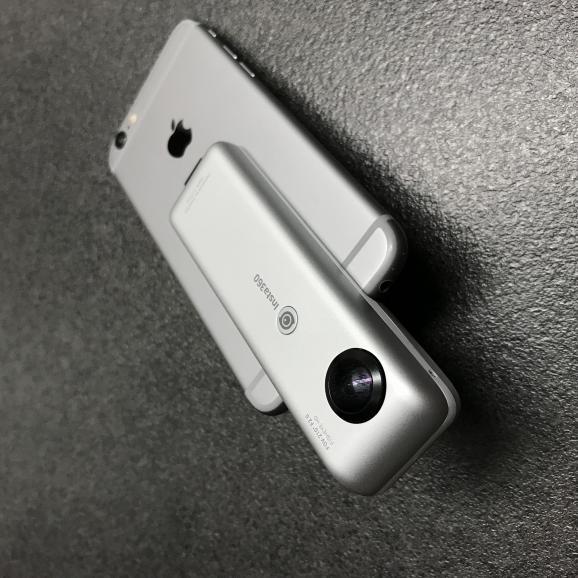 Insta360 Nano als Aufsteckkamera für Lightning