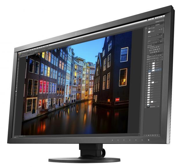 Auf einer Bildschirmdiagonale von 27Zoll lassen sich Fotos prima bearbeiten.