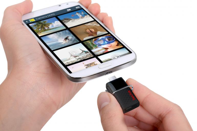 SanDisk Ultra Dual USB-Laufwerk 3.0