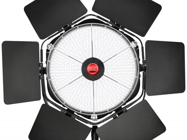 Rotolight ANOVA PRO – weltweit erste Bi-Color-LED-Dauerleuchte mit High-Speed-Synchronisation