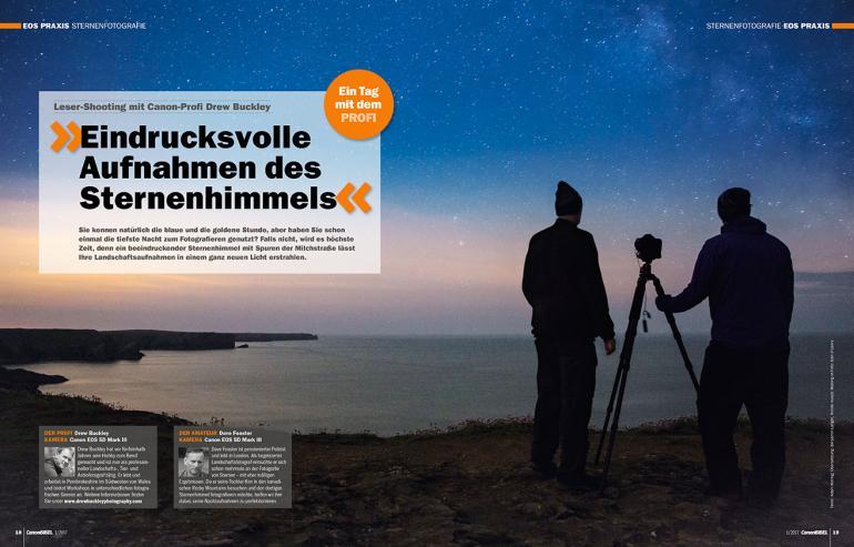EOS Praxis: Sternenfotografie