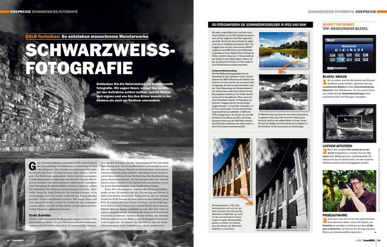 DSLR-Techniken: Schwarzweiss-Fotografie