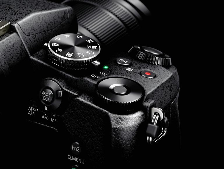 Im 4K-Modus erlaubt die G81 die Aufnahme von Videosequenzen mit 30 Vollbildern pro Sekunde. Aus dem Clip lassen sich Fotos mit 8MP Auflösung exportieren.