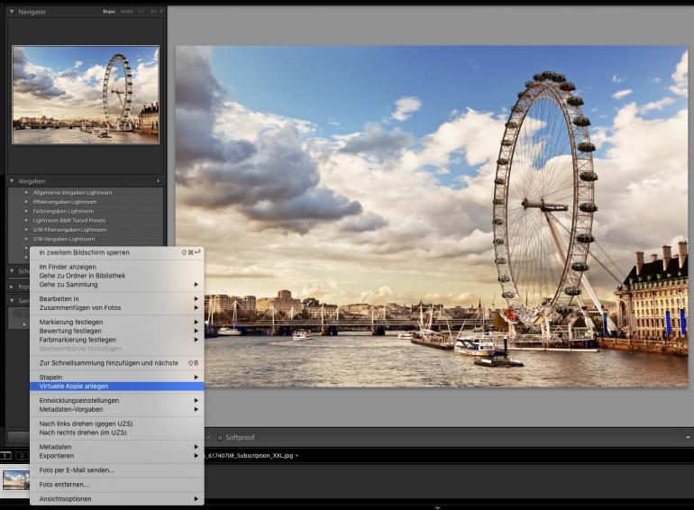 Lightroom Presets & Shortcuts für schnelles Bearbeiten nutzen