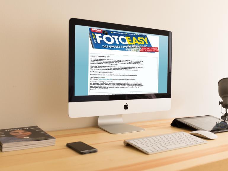 FotoEasy: Ihre Meinung zählt! Jetzt bei Umfrage mitmachen und gewinnen!