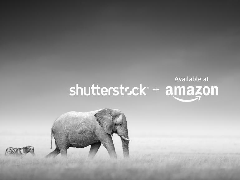 Shutterstock bietet Foto-Kollektion für Prints auf Amazon