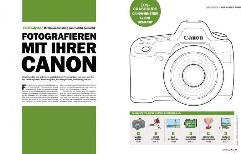 Neu am Kiosk und online: CanonFoto 3/2017
