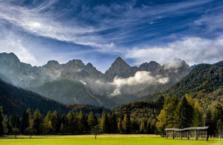 Slovenien im Frühjahr